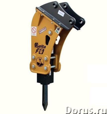 Гидромолот на джейсиби jcb 4cx 3cx дельта ф5 ф6 - Запчасти и аксессуары - Предлагаем гидромолот на э..., фото 4