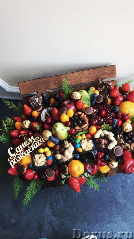 Съедобные букеты, фруктовые букеты, сладкие букеты, мужской букет - Подарки и сувениры - Съедобные б..., фото 2